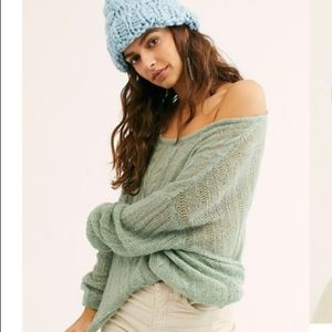 FREE PEOPLE Angel Soft Pullover Sweater NWT Small